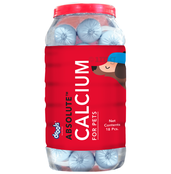 Drools Absolute Calcium Sausage for Pets Chicken Flavour