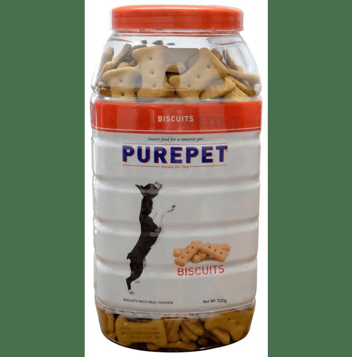 Purepet Real Chicken Biscuit, Dog Treats Chicken Flavour