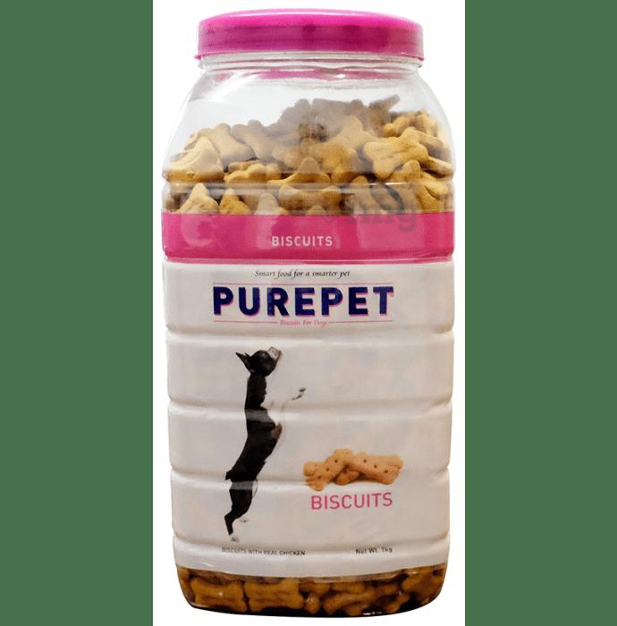 Purepet Real Chicken Biscuit, Dog Treats Mutton Flavour