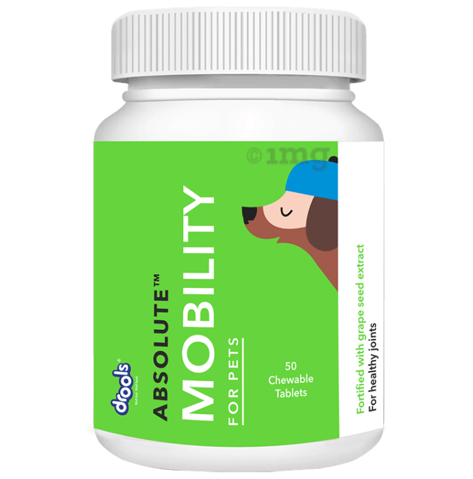 Drools Absolute Mobility Tablet - Dog Supplement