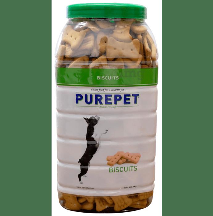 Purepet 100% Vegeterian Biscuit Dog Treats