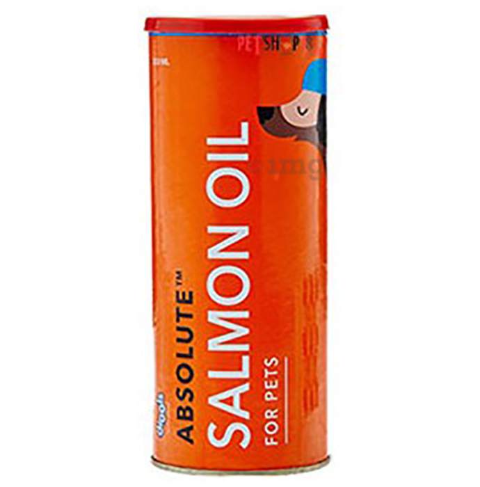Drools Absolute Salmon Oil Syrup - Dog Supplement