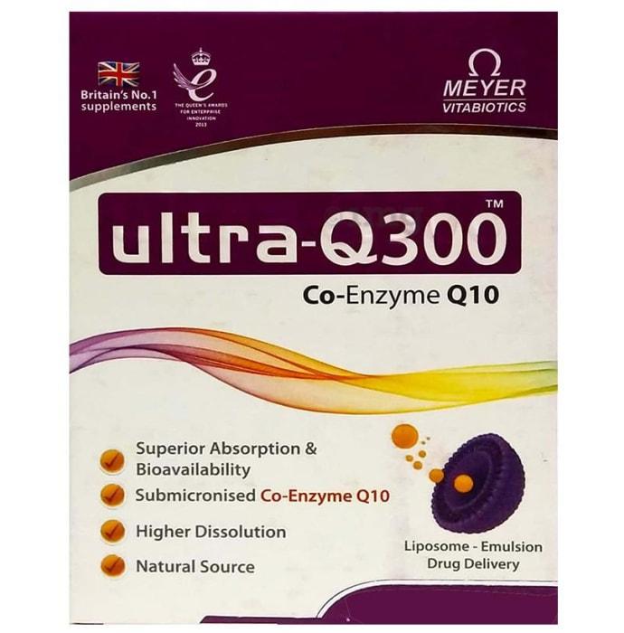 Ultra-Q 300mg Soft Gelatin Capsule
