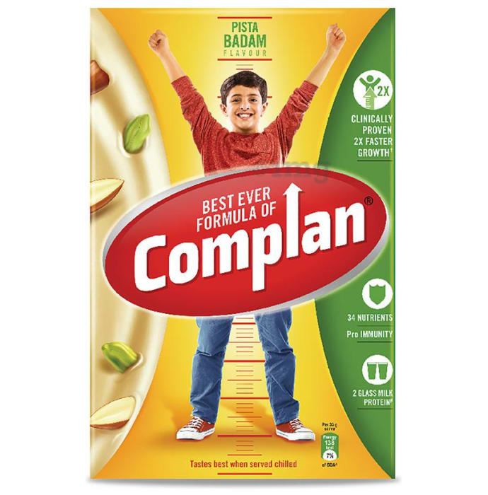 Complan Nutrition and Health Drink Refill Pista Badam