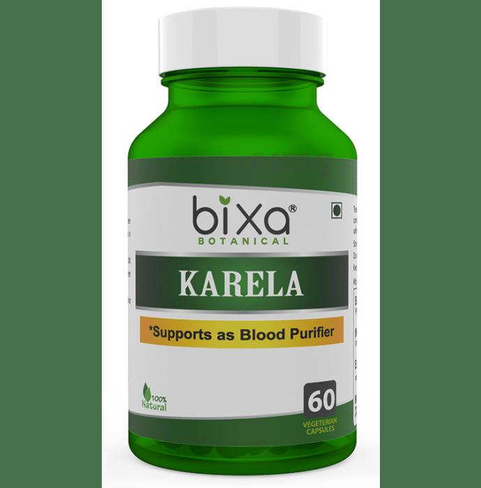 Bixa Botanical Karela Extract (Momordica Charantia) 5% Bitters 450mg Veg Capsule
