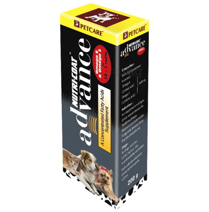 Petcare Nutri-coat Advance Supplement for Cats and Dogs
