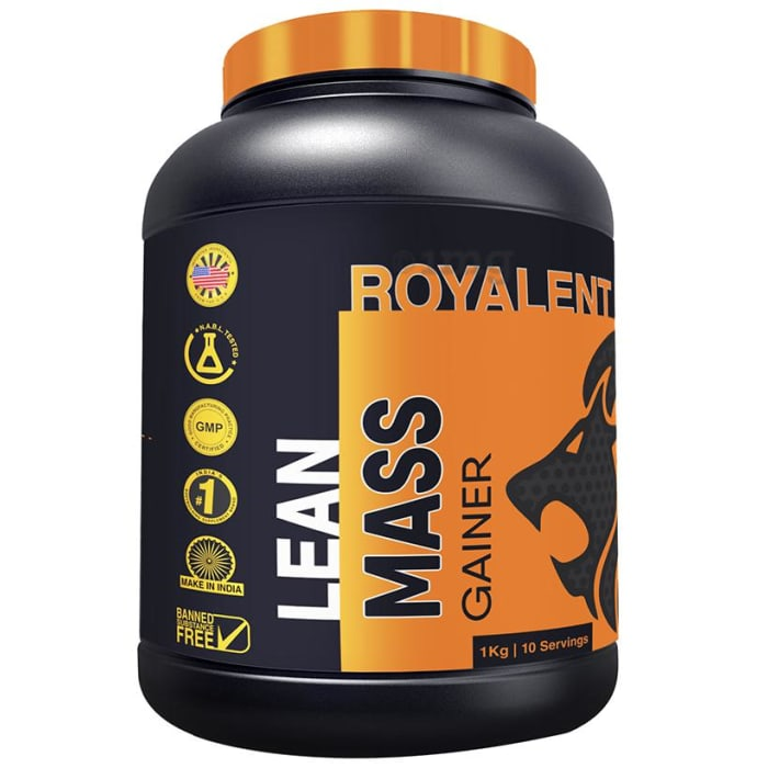 Royalent Lean Mass Gainer Banana