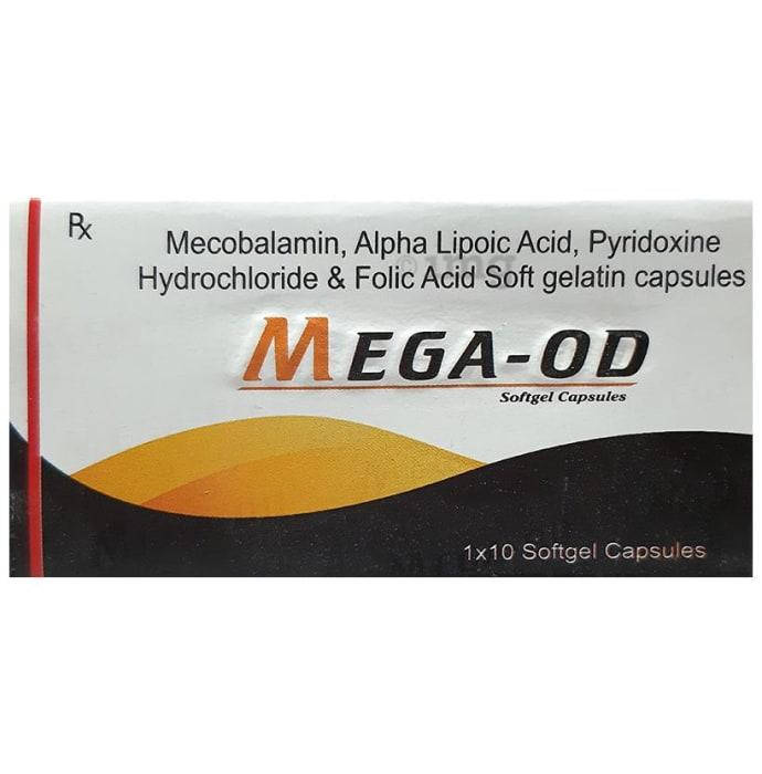 Mega OD Soft Gelatin Capsule
