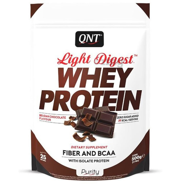 QNT Light Digest Whey Protein Belgiun Chocolate