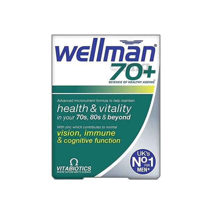 Wellman 70+ Health Supplement for Men Tablet