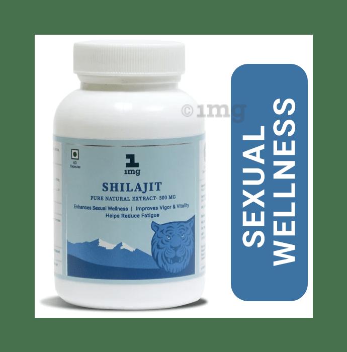1mg Shilajit Pure Natural Extract 500mg Capsule