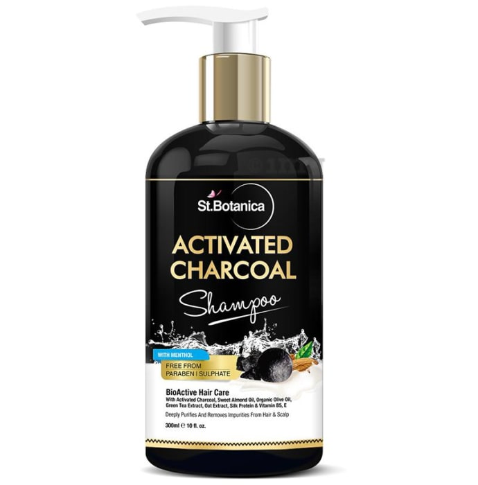 St.Botanica Activated Charcoal Hair Shampoo