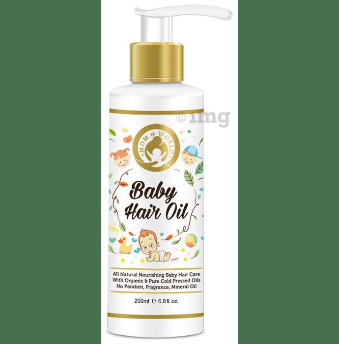 Mom & World Baby Hair Oil