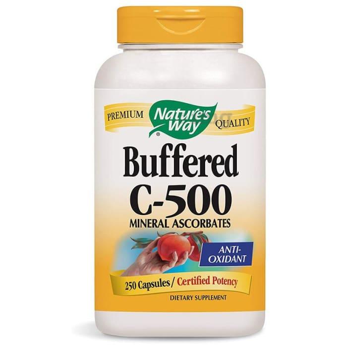 Nature's Way Vitamin C-500 Ascorbate Buffered Capsule