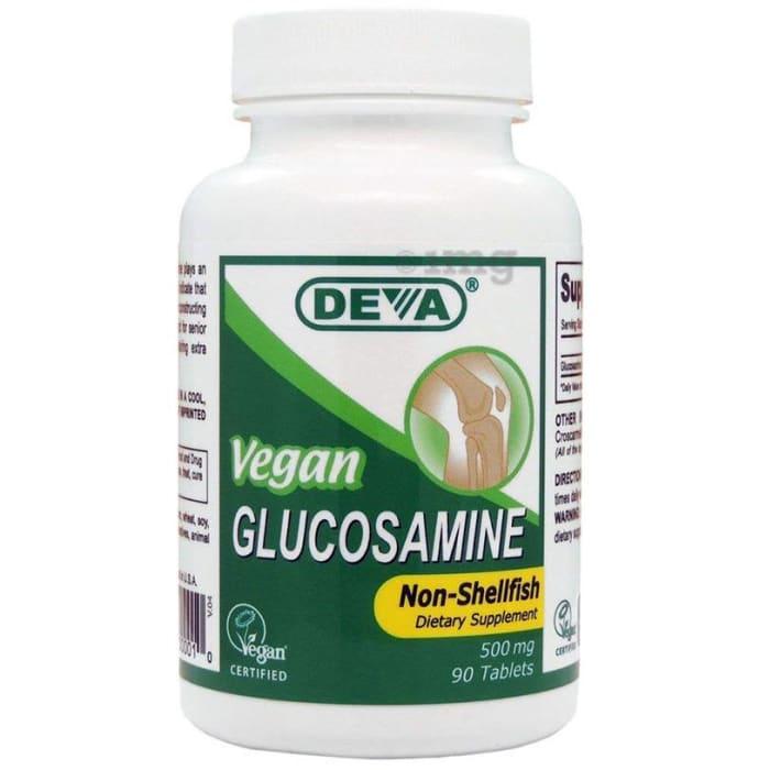 Deva Vegan Glucosamine 500mg Tablet