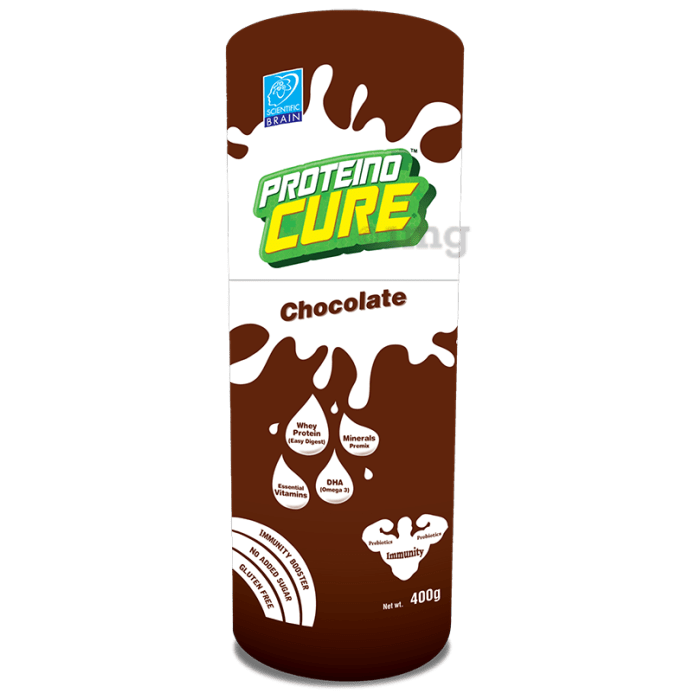Proteino Cure Nutrition Drink for Diabetic Care Chocolate