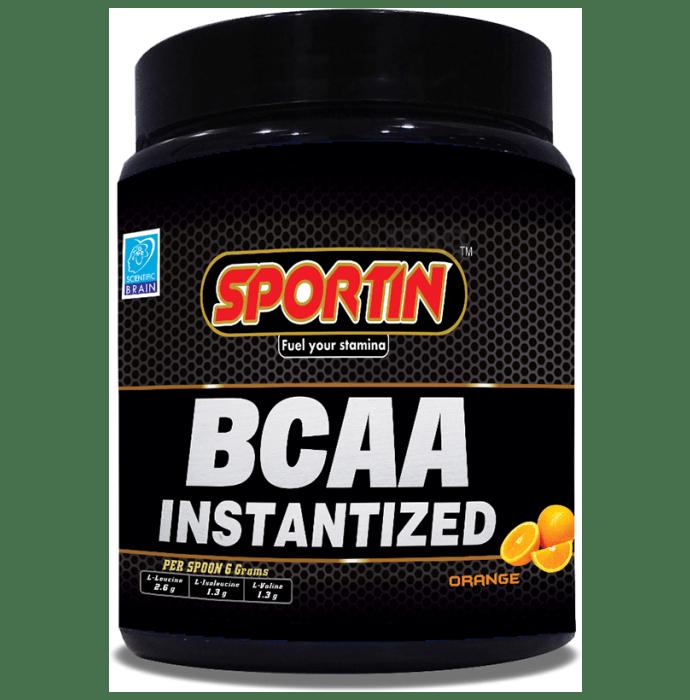Sportin BCAA Instantized Powder Orange
