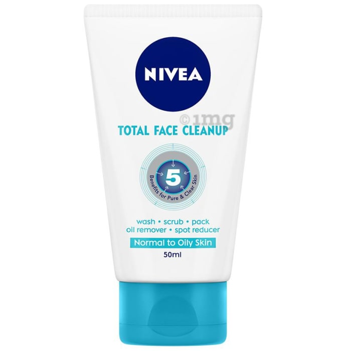 Nivea Total Face Clean Up