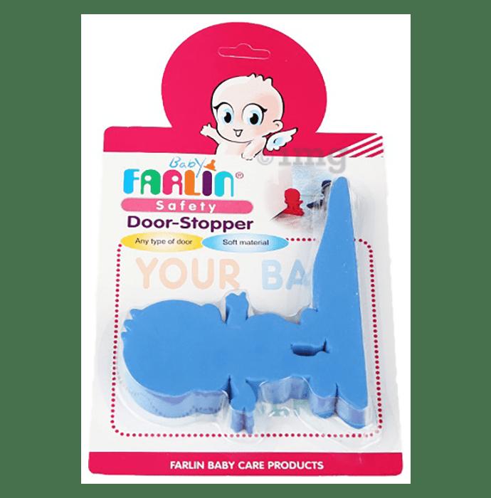 Farlin Safety Door-Stopper Blue
