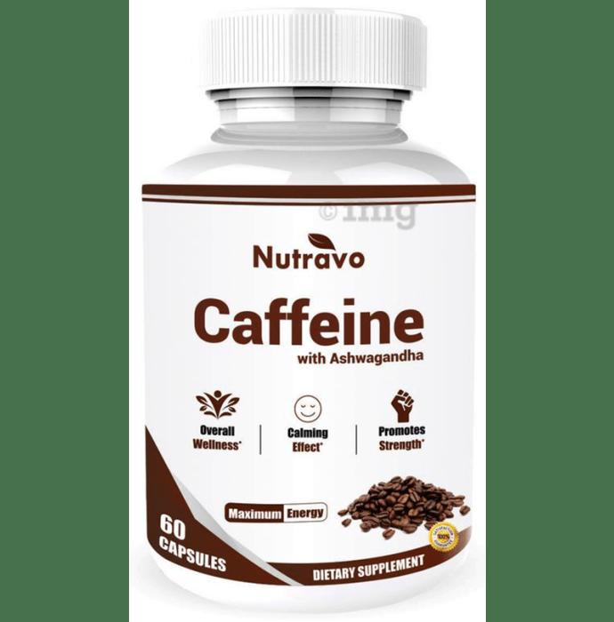 Nutravo Caffeine with Ashwagandha Capsule