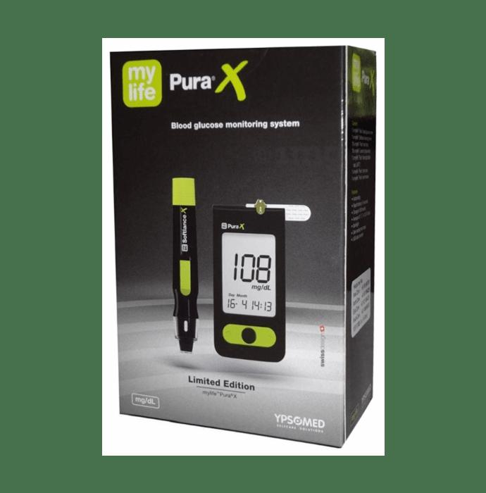 MyLife Unio Blood Glucose Monitoring System Black