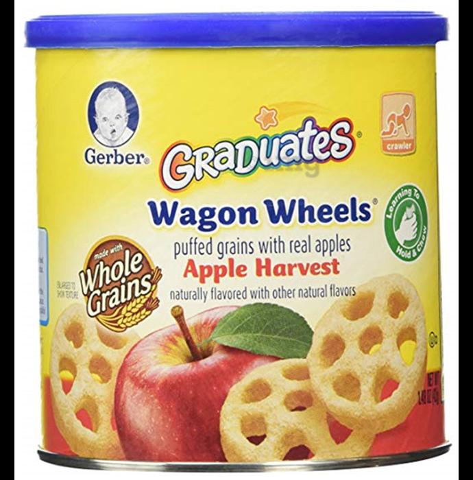 Gerber Wagon Wheels Apple Harvest