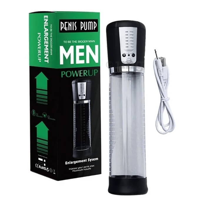 Pure Passion Power Up Electronic Male Organ Developer Pump