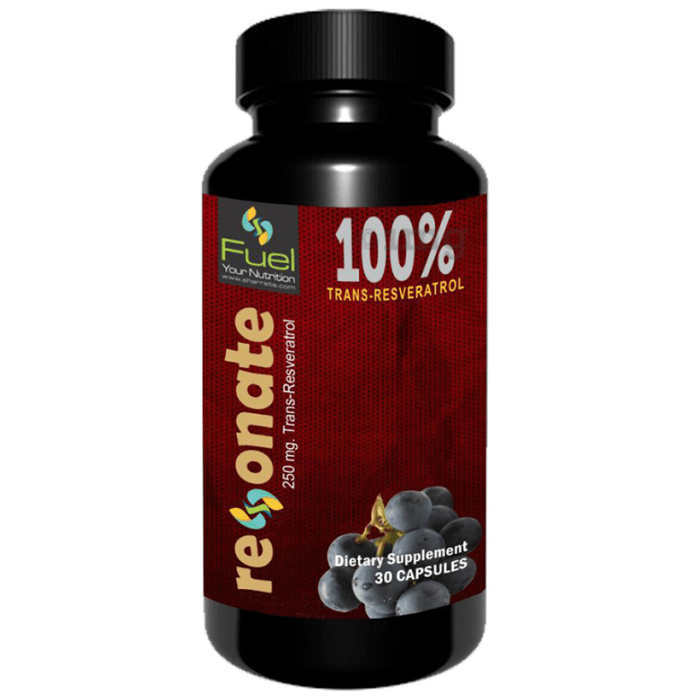 Sharrets Resonate 100% Trans-Resveratrol 250mg Capsule