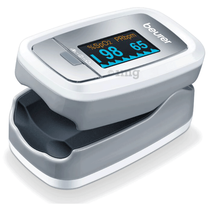 Beurer PO30 Pulse Oximeter Silver