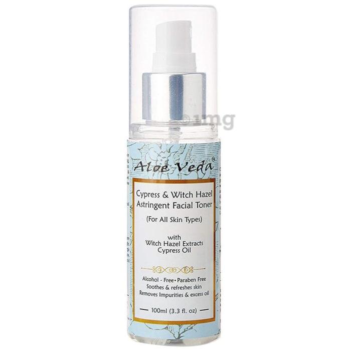 Aloe Veda Cypress & Witch Hazel Astringent Facial Toner
