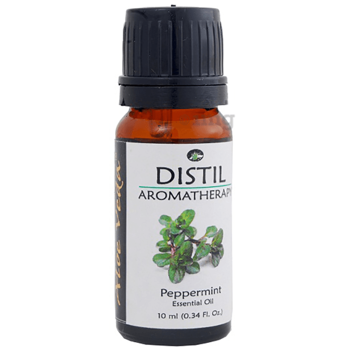 Aloe Veda Peppermint Distil Aromatherapy Essential Oil
