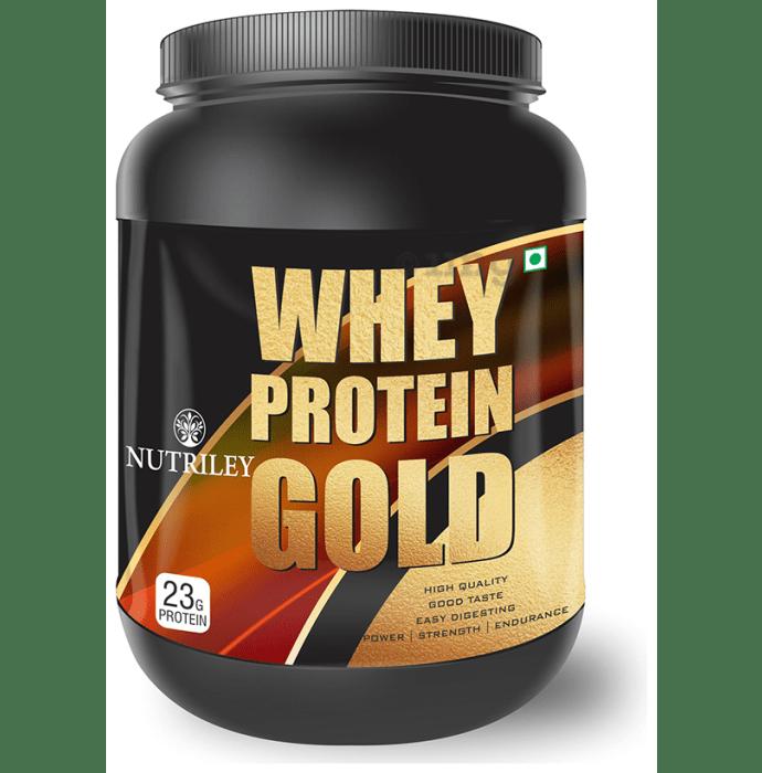 Nutriley Whey Protein Gold Powder Banana