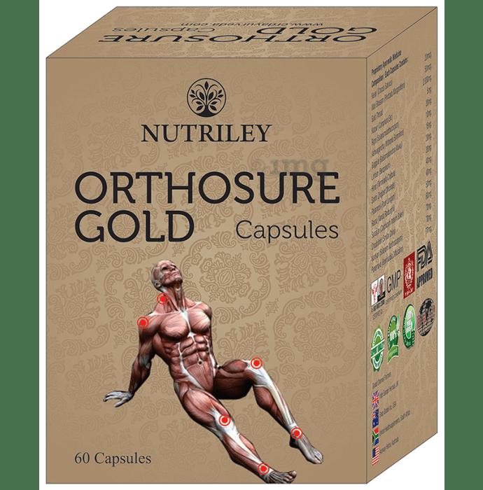 Nutriley CRD Ayurveda Orthosure Gold Capsule