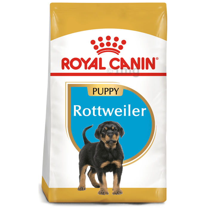 Royal Canin Rottweiler Pet Food Puppy