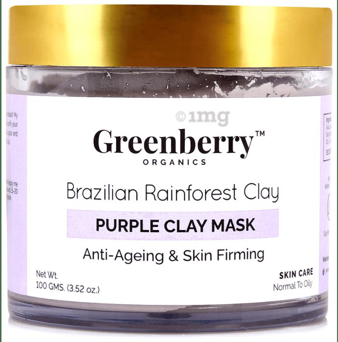 Greenberry Organics Brazilian Rainforest Clay Purple Clay Mask