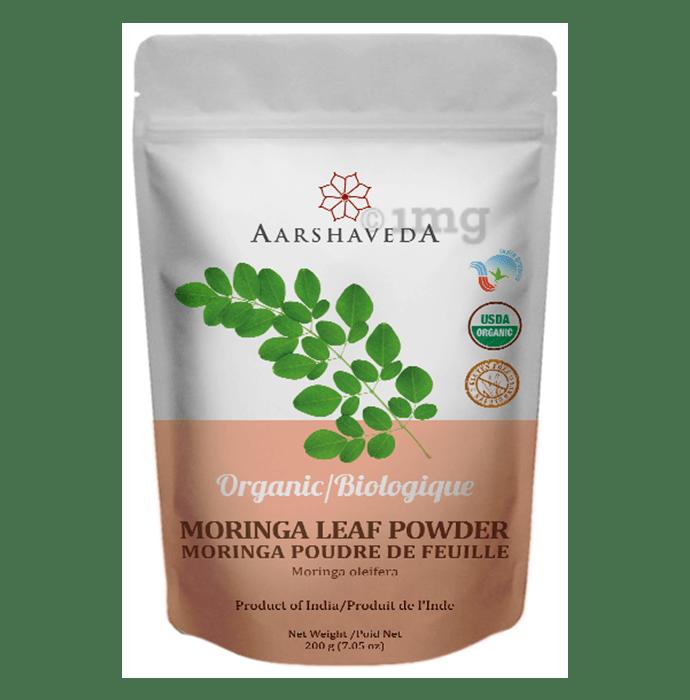 Aarshaveda Organic Moringa Leaf Powder