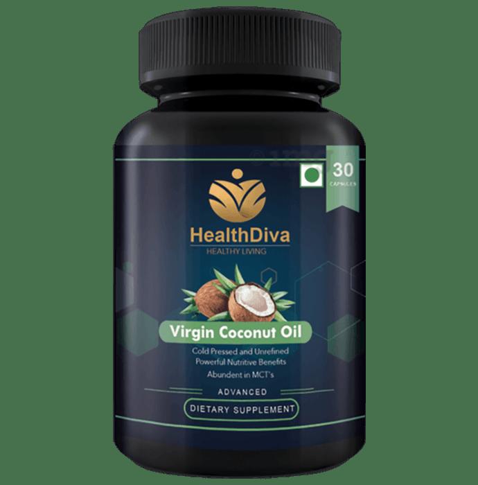 HealthDiva Virgin Coconut Capsule