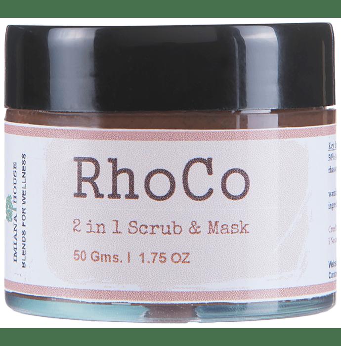 Imiana Rhoco 2 in 1 Scrub & Mask