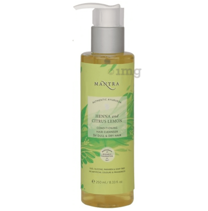 Mantra Henna and Citrus Lemon Conditioning Hair Cleanser