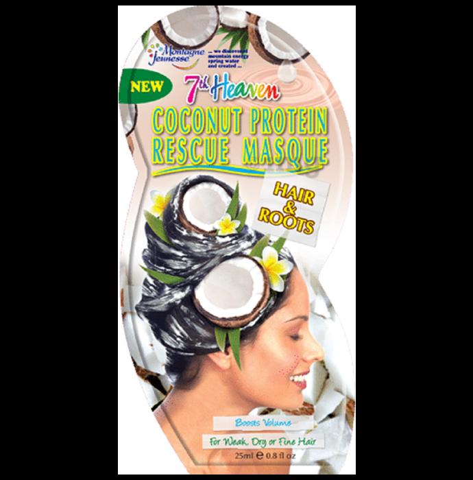 7th Heaven Rescue Hair Masque Coconut Protein