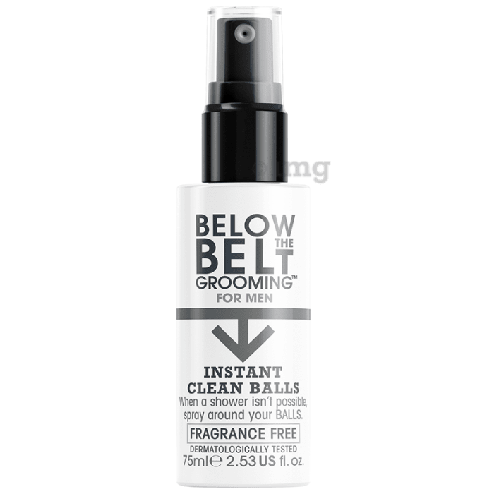 Below the Belt Instant Clean Balls Spray Fragrance Free