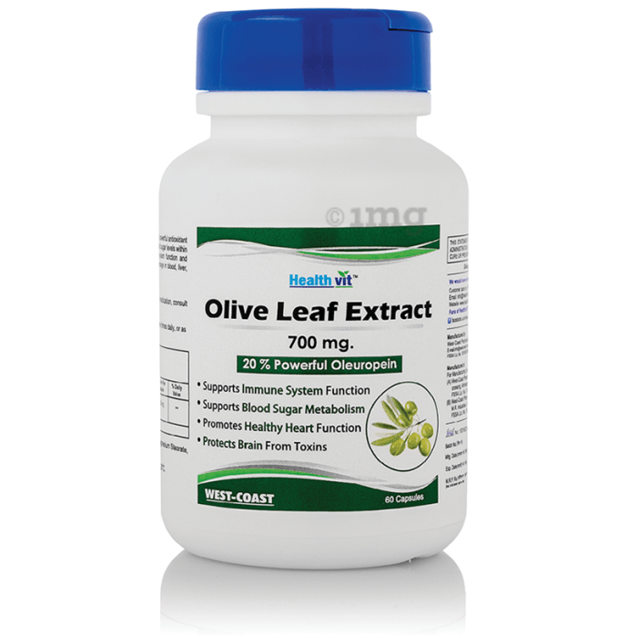 HealthVit Olive Leaf Extract 700mg Capsule