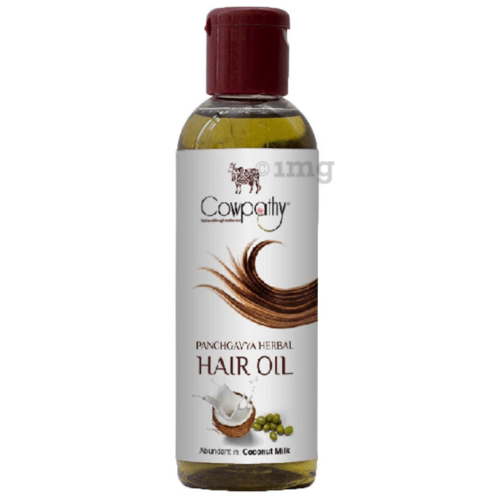 Cowpathy Panchgavya Herbal Coconut Milk Hair Oil