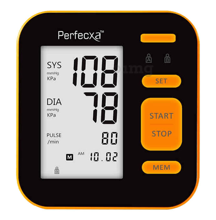 Perfecxa B02 Upper Arm Blood Pressure Monitor