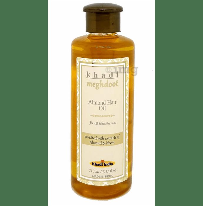 Khadi Meghdoot Almond Hair Oil