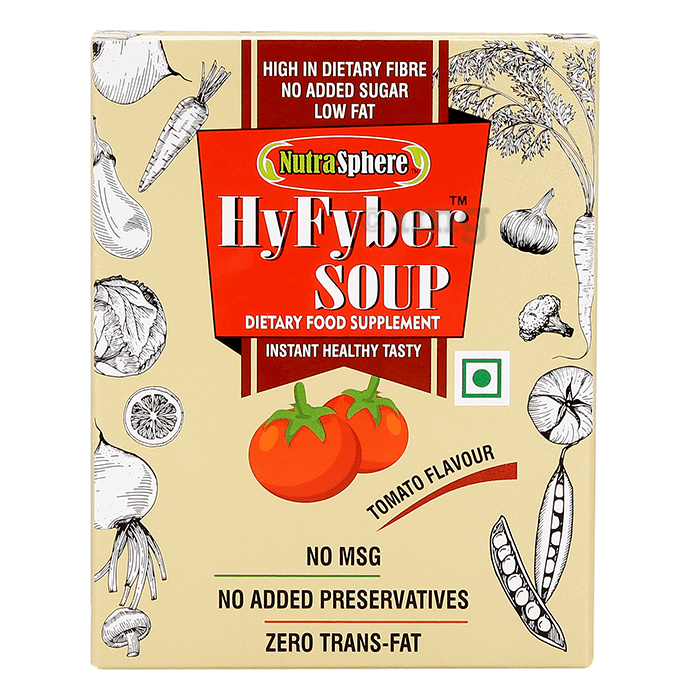NutraSphere HyFyber 200gm Soup Tomato