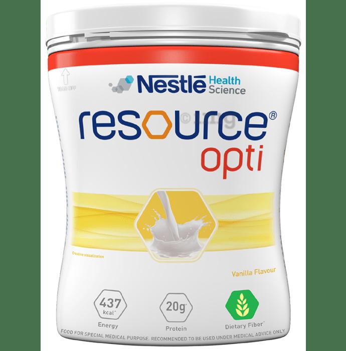 Nestle Resource Opti Vanilla Powder