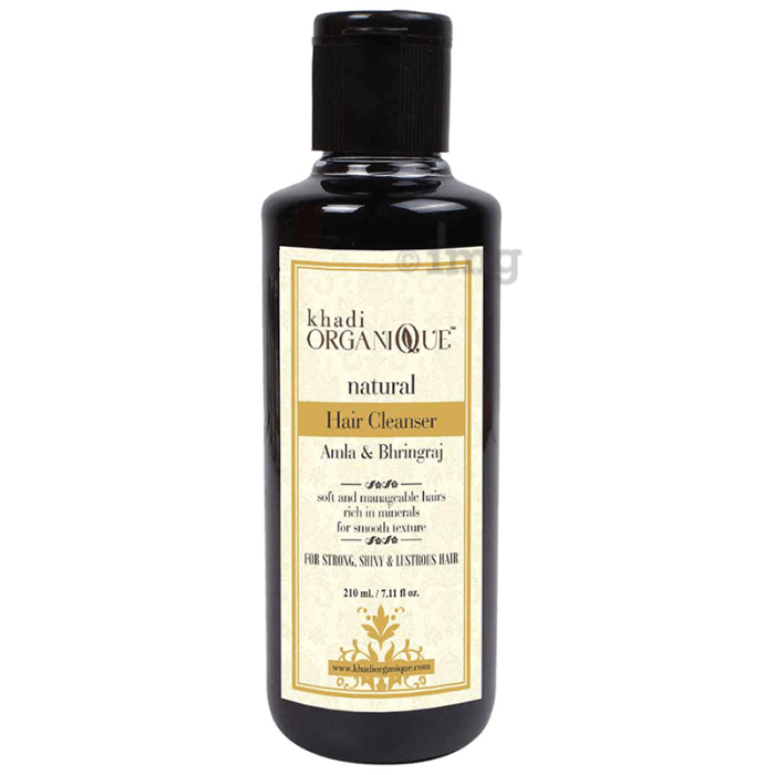 Khadi Organique Natural Shampoo Amla and Bhringraj
