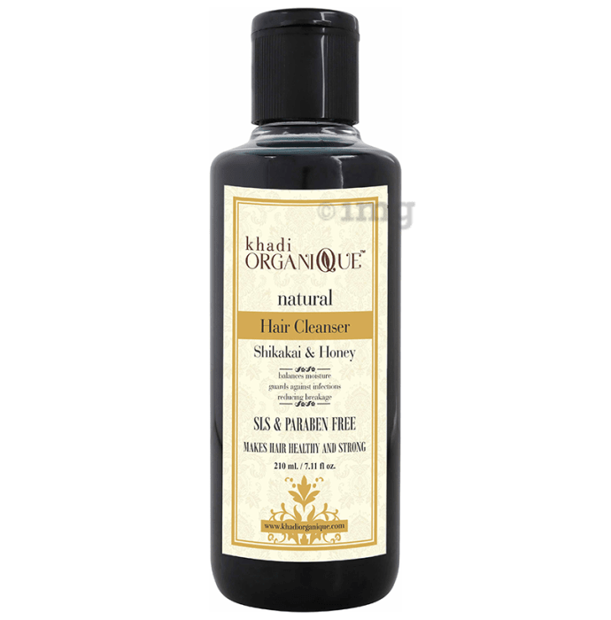 Khadi Organique Natural Shampoo Shikakai and Honey SLS Paraben Free