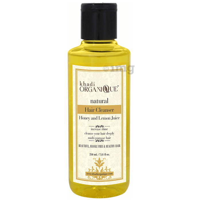 Khadi Organique Natural Shampoo Honey and Lemon Juice